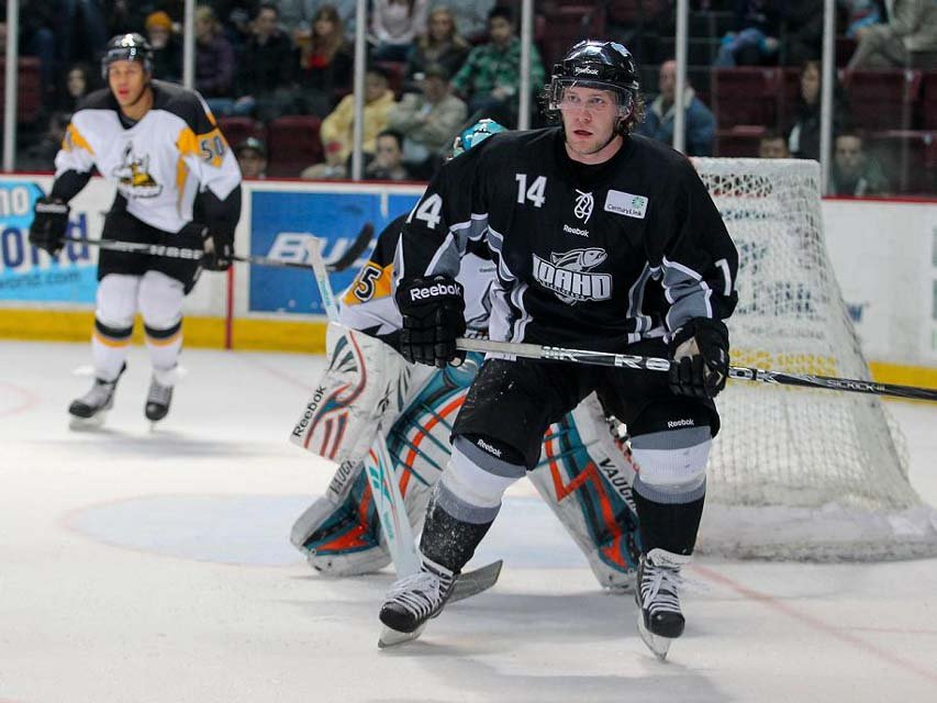 Cody Purves skates with the Idaho Steelheads. (Courtesy: Idaho Steelheads)