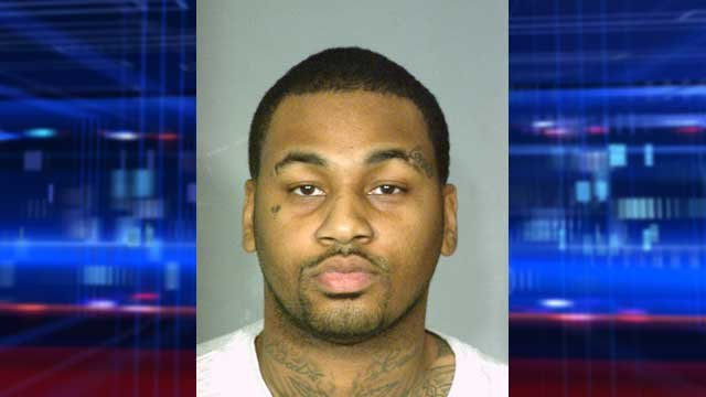 Ammar Harris, pictured in a booking photo in April 2013. (LVMPD)