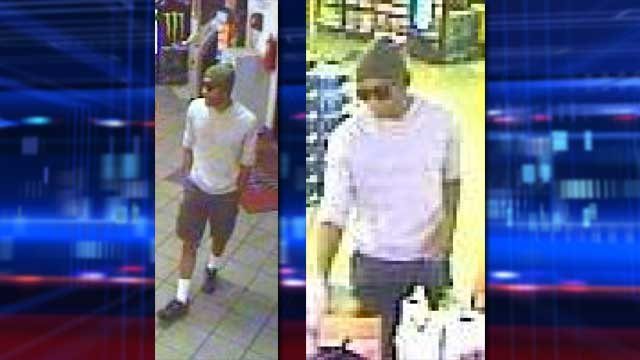 Police are looking for a suspect who held up a Las Vegas convenience store at gunpoint. (LVMPD)