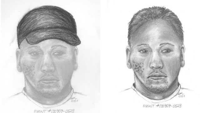A composite sketch was released in an armed robbery that took place on Sept. 9, 2013. (LVMPD)
