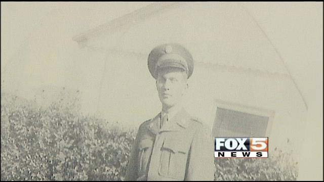 Sgt. Melvin Wolfe was laid to rest on Monday in Boulder City. (FOX5)
