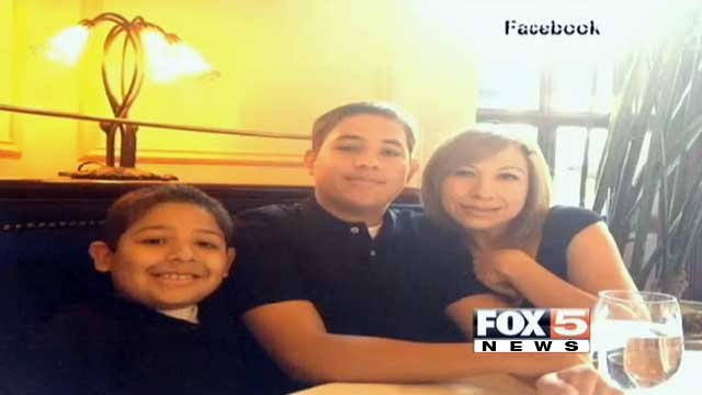 Cesar Navarro (left), Adrian Navarro (middle) and Elvira Canales (right) are seen in this undated family picture. (Source: Facebook)