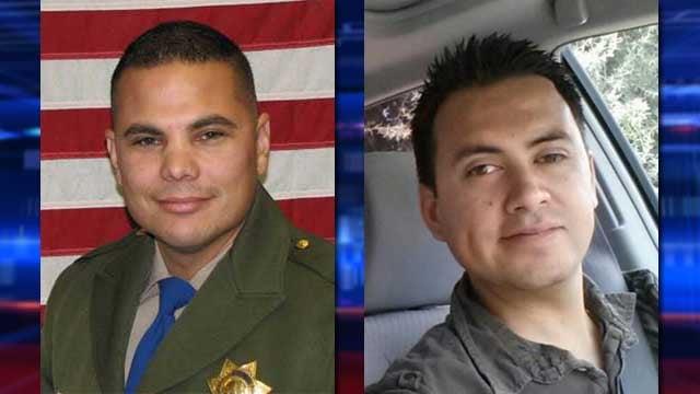 CHP Officer Jesus Magdaleno, left, and Felix Brandon Cruz. (Source: CHP/Cruz family)