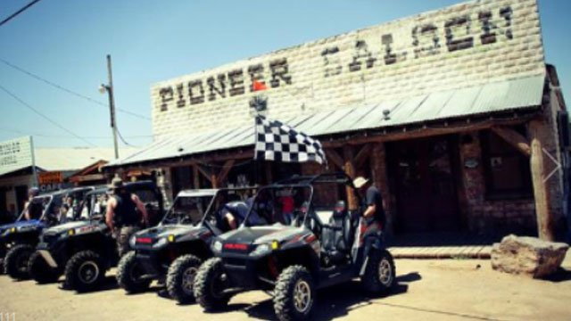 The Pioneer Saloon, seen as the anchor business of Goodsprings, NV, is touted as the oldest saloon in Clark County. (Source: PioneerSaloon.info)
