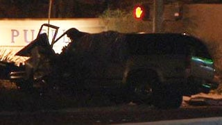 One person died as a result of a crash that took place on Buffalo Drive on Oct. 23, 2013. (FOX5)