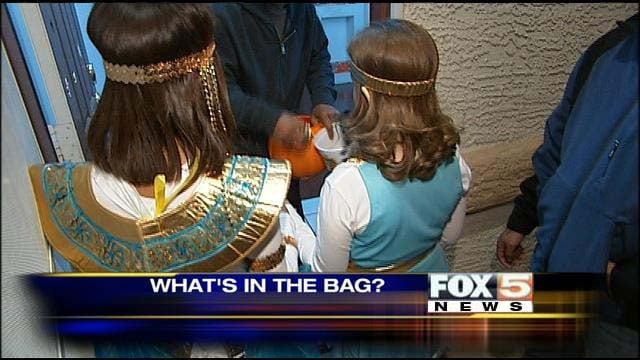 Surprisingly, most kids eschew healthful snacks on Halloween. (FOX5)