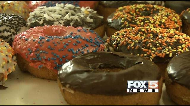 Trans fats are common in doughnuts and other fried foods. (FOX5)