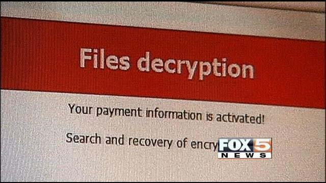 The Crypto Locker Virus can actually hold your files for ransom. (FOX5)