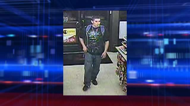 Metro detectives believe this man is responsible for robbing a convenience store near Pecos Road and Las Vegas Boulevard on Sept. 15. (Source: LVMPD)