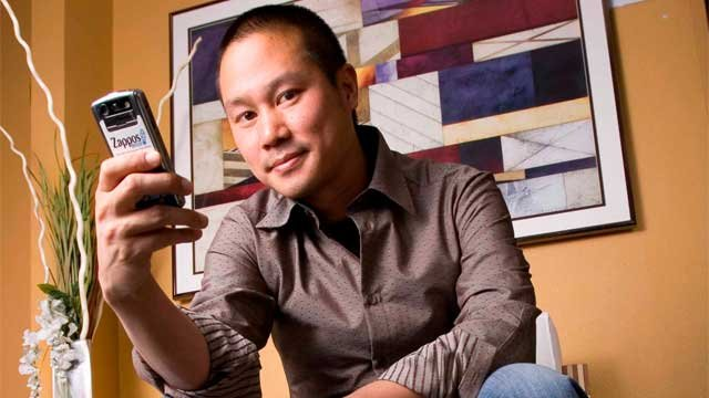 Zappos.com CEO Tony Hsieh (Source: Associated Press/Wikimedia)