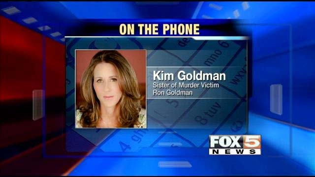 FOX5 on Wednesday spoke with Kim Goldman about a judge denying O.J. Simpson's bid for a robbery retrial. (11/27/2013)