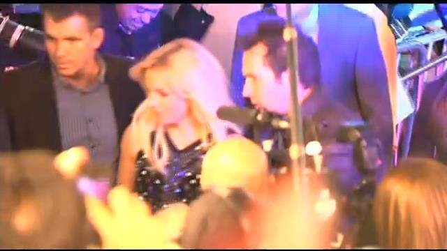 Britney Spears arrives at Planet Hollywood Resort & Casino on Tuesday, Dec. 3 ahead of her two-year residency. (FOX5)