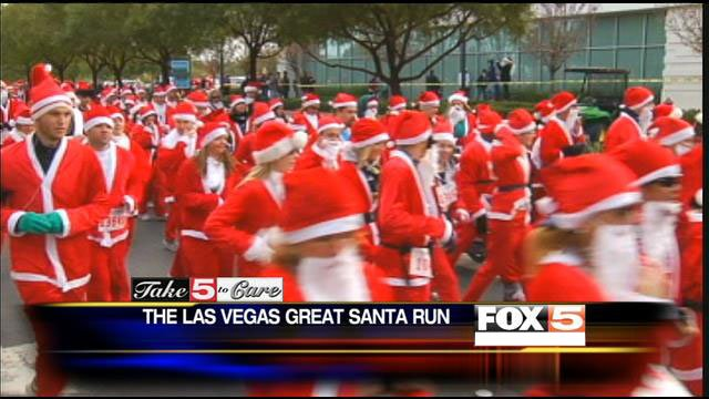 Opportunity Village holds the annual Las Vegas Great Santa Run as its largest annual fundraiser. (FOX5)