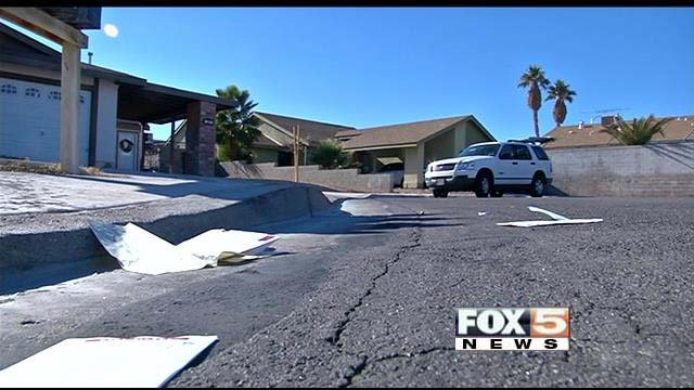 Residents who live on Manatee Court woke to find their mail scattered along the street Wednesday morning. (FOX5)
