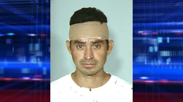 A booking photo of Jose Aguilar from a previous, undisclosed incident. (Source: LVMPD)