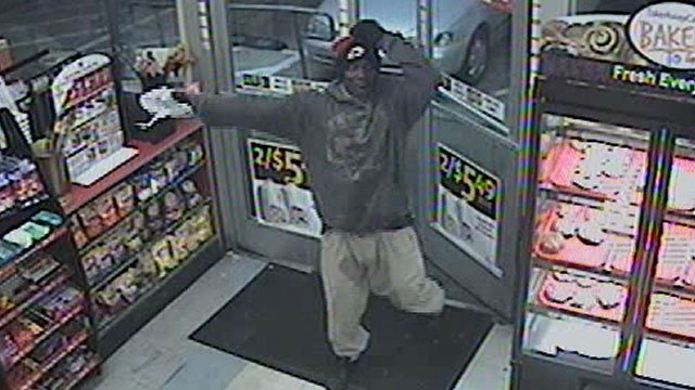 Police said the suspect held up a store in the area of Valley View and Charleston boulevards on Nov. 24, 2013. (LVMPD)