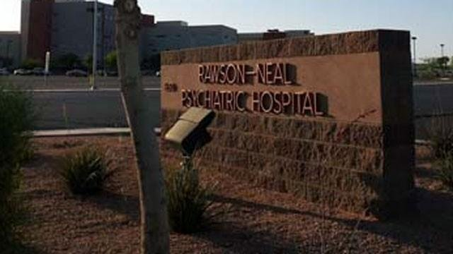 Rawson-Neal Psychiatric Hospital in Las Vegas appears in this undated file photo. (File/FOX5)