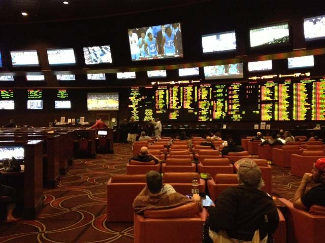 The Sunset Station Race and Sports Book. (Elizabeth Watts/FOX5)