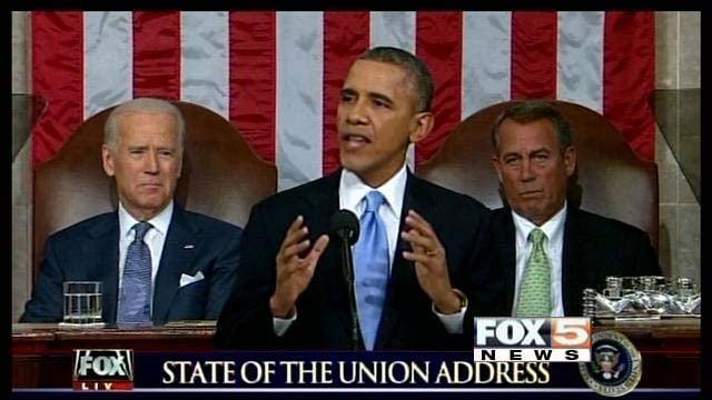 president obama urges congress to increase minimum wage fox5 vegas kvvu. Black Bedroom Furniture Sets. Home Design Ideas