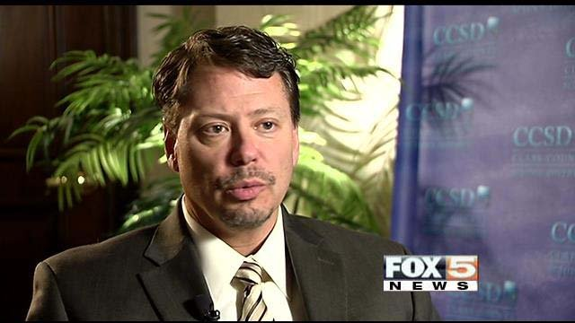 Clark County School District Superintendent Pat Skorkowsky talks about the challenges of conducting background checks on potential employees. (FOX5)