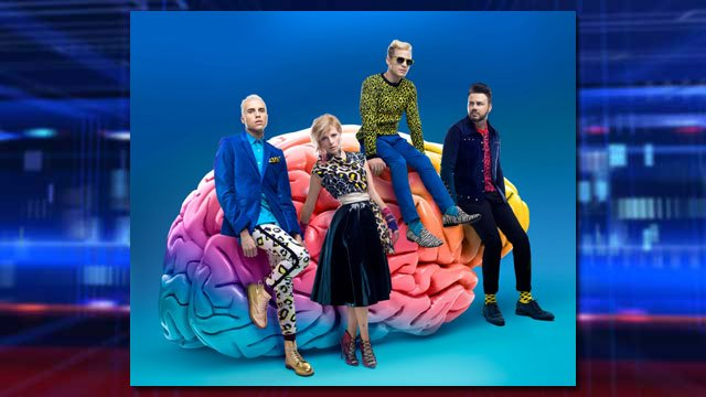 Neon Trees (Photo provided by The Cosmopolitan of Las Vegas)