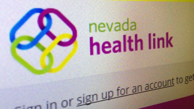 The logo of Nevada Health Link is seen on a website operated by the Silver State Health Insurance Exchange in this undated image. (File/FOX5)