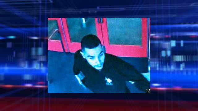 Surveillance still of a man believed to be responsible for an attempted robbery on Dec. 3, 2013. (Source: LVMPD)