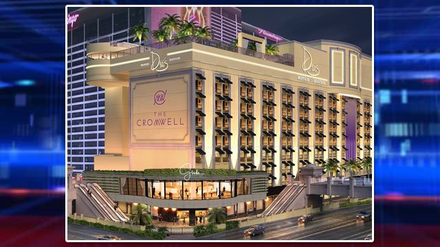 Artist rendering shows plans for The Cromwell at the Las Vegas Strip. (Source: Caesars Entertainment)