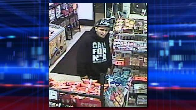 Police released this photo as one of three persons of interest sought in a March 1, 2014 shooting. Documents identified the person as Alan Sosa, the suspect in the shooting. (Source: LVMPD)