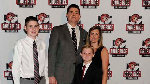 UNLV men's basketball coach Dave Rice appears with his family in this undated file photo. (Source: wickedcreative)