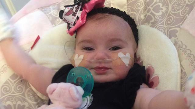 Gracie Baber smiles at home on Tuesday, March 25. (Jason Westerhaus/FOX5)