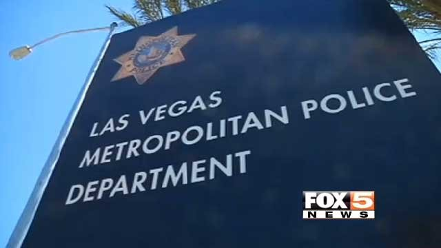 The sign outside the Las Vegas Metropolitan Police Department is seen in this undated image. (File/FOX5)