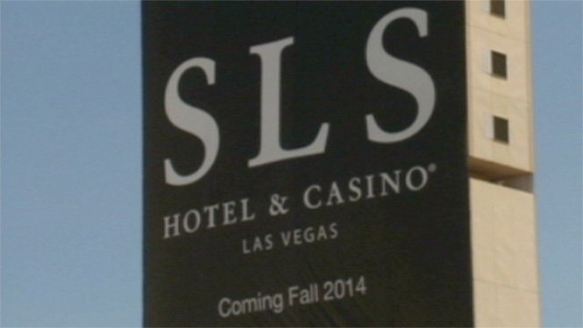 The owner of the former Sahara hotel-casino said a grand opening for the revamped property is expected for Labor Day weekend 2014. (FOX5 FILE)