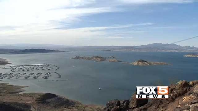 Lake Mead is seen in this undated file photo. (File/FOX5)