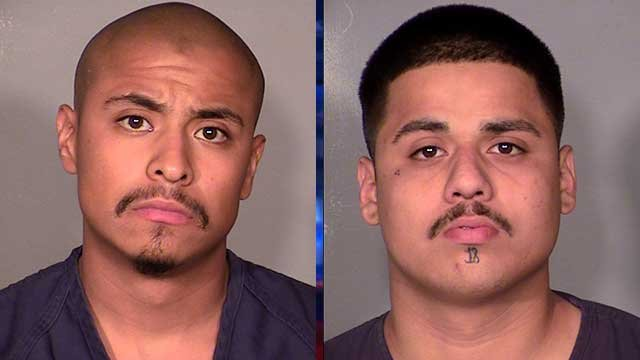 Julio Renteria (left) and Adrian McClintock (Source: LVMPD)