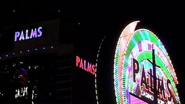 The Palms Casino Resort as seen from Flamingo Road on Thursday, May 15. (Erik Ho/FOX5)