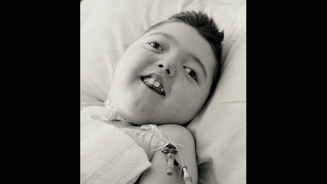Austin Sonetti, pictured while in treatment, died on May 16, 2014, more than 9 years after nearly drowning. (Photo provided by the Sonetti family)