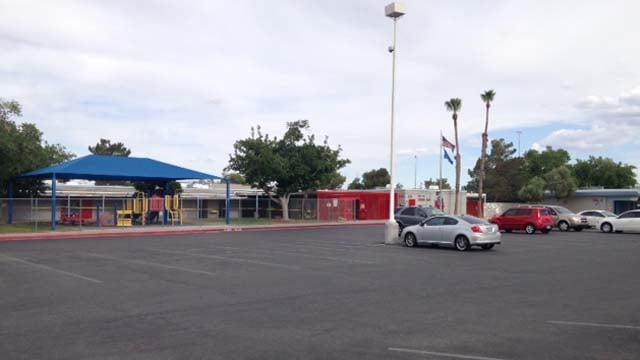 Ruth Fyfe Elementary School in Las Vegas. (Erik Ho/FOX5)
