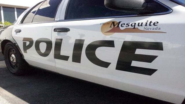 A Mesquite police vehicle is shown in an undated image. (File)