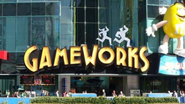 GameWorks at the Las Vegas Strip closed in March 2012 after 15 years in business. (FILE/FOX5)