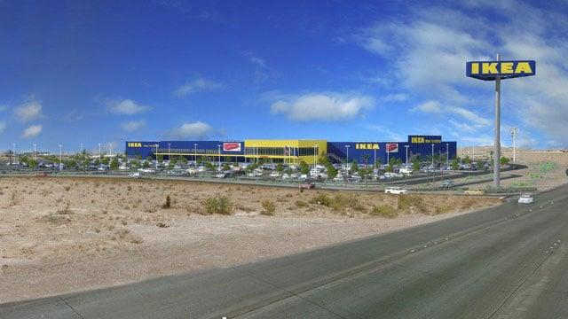 Ikea plans 2016 opening for las vegas location wsmv news 4 for Southwest furniture las vegas nv