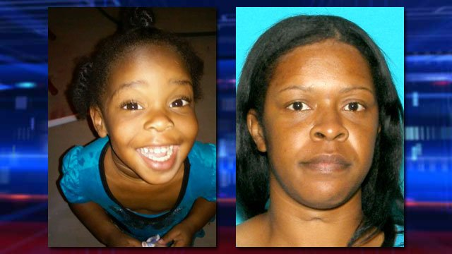 Katies Battle, left, and her mother, Shelly Mitchell. (Source: North Las Vegas Police Dept.)