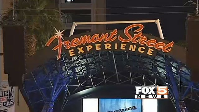 The Las Vegas City Council approved a ban on alcohol consumption from glass and metal containers on Fremont Street Experience in June 2014. (FOX5 FILE)