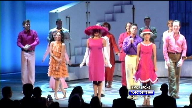 The cast of 'Mamma Mia!' stand for their finale at Tropicana Theater on the Las Vegas Strip. (MORE/FOX5)