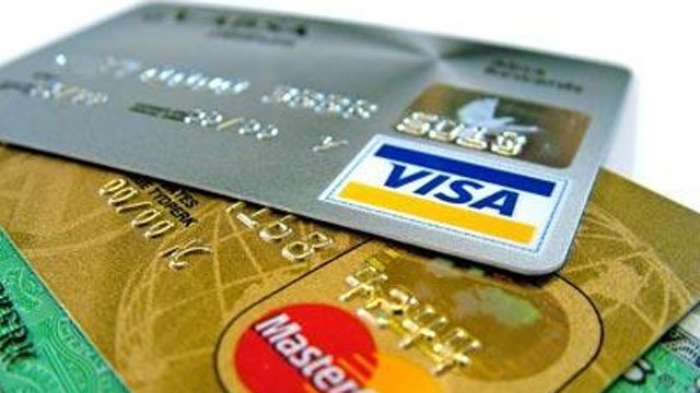 Several common credit cards appear in this undated file image. (File/FOX5)