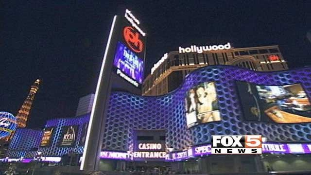 Las Vegas Metro police said a man was wounded in stabbing in the area of the Planet Hollywood hotel-casino on August 15, 2014. (FOX5 FILE)