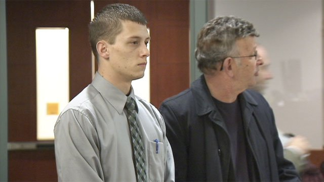 Colin Lowrey appeared in Clark County District Court for an arraignment on Dec. 10, 2013. (FOX5)