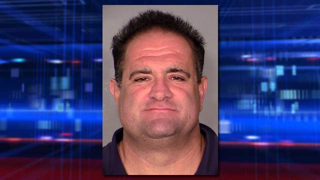 Vahak Mardikian, a sergeant with Glendale, CA, police, was arrested on a count of solicitation of prostitution on Aug. 8, 2014. (LVMPD)