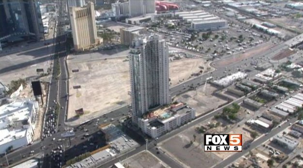 "About 33 acres of land in the north end of the Las Vegas Strip will serve as the permanent plot for Rock in Rio's ""City of Rock"". (FOX5 FILE)"