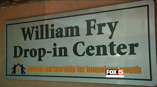 The William Fry Center in conjunction with the Nevada Partnership for Homeless Youth offers assistance to homeless students. (FOX5)